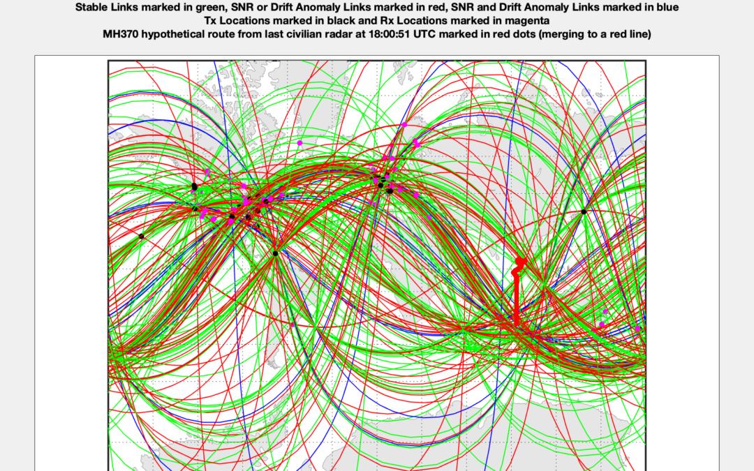 MH370 Final Major Turn(s)